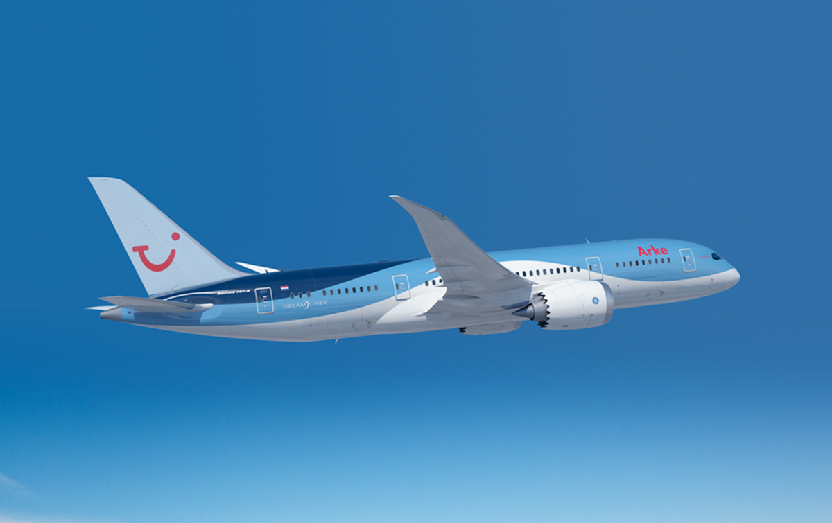 Arke Dreamliner to Curacao