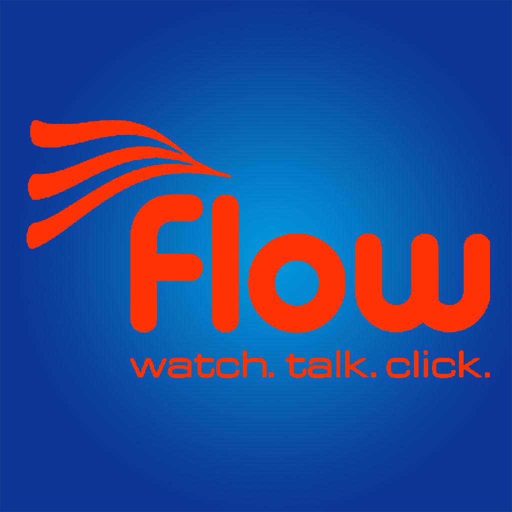 Flow Curacao Internet Logo