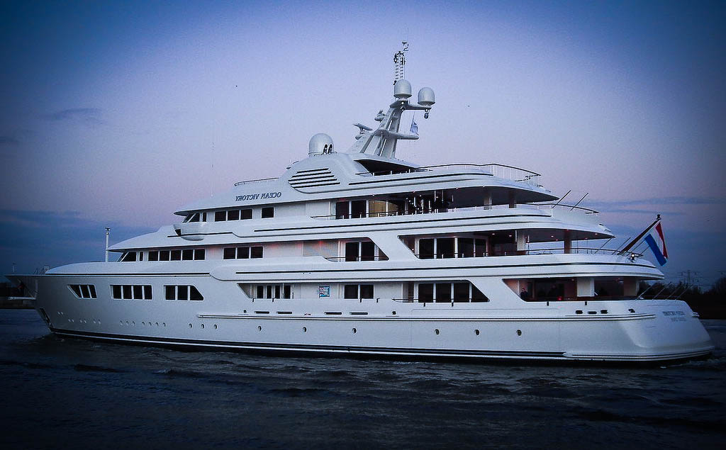 Super Yacht Ocean Victory in Curacao